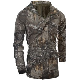Fall-Autumn Jacket Men Outdoor Sport Army Camouflage Coat  Men Tactical Jacket And Men Hoodies Army Forest stealth clothing