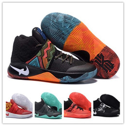 Wholesale Basketball Shoes Mens Kyrie II BHM Black History Month Irving Multicolor Sports Shoes Running Shoes sneakers training shoes