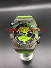 Wholesale 2016 hot styles of VK quartz chronograph high quality sapphire glass Fruit series green apple Rubber watchband