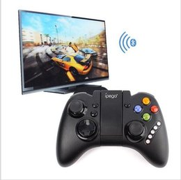 Wholesale 2016 Hot Sale Portable Ipega PG Wireless Bluetooth Game Controller Game Pad Joy Stick For Smart Phones Tablet D3365A