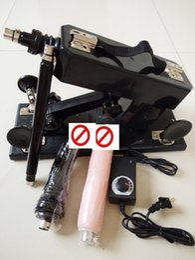 Wholesale adult products Automatic Sex Machine online with Dildo Sexual Intercourse Robot Machine cm Retractable Female Masturbator Sex Toys
