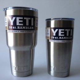 Wholesale YETI oz Rambler Tumbler Cup with Lid designed With stainless steel construction double wall vacuum insulation and No Sweat