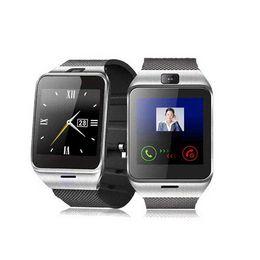Premier téléphone intelligent en Ligne-{First support NFC} GV18 Montre-bracelet bluetooth intelligent avec caméra Smartwatch support carte SIM montre de sport pour téléphone intelligent