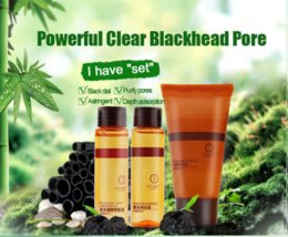 SNAZII Face Care Powerful Clear Black Head Pore Deep Cleaning Face Mask Set Blackhead Remover Beauty Holika Face Care 3pcs