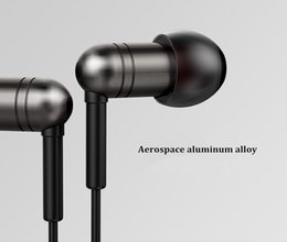 Wholesale Waterproof Stereo In Ear Headset Joyroom Dynamic Headphone Aerospace aluminum alloy Earphone For Iphone Samsung