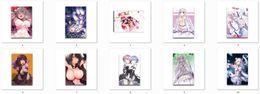 Wholesale May update re zero kara hajimeru isekai seikatsu anime characters rem ram canvas painting Beatrice emilia re zero poster