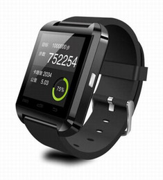 Wholesale Smartwatch Bluetooth Watch U80 Smart Wear Step MTK Chip High altitude Movement Project Automatic Watch Watches For Women And Men