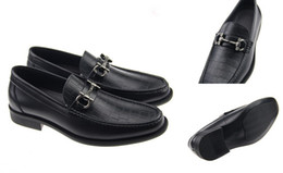 Wholesale Best Quality Real Leather Cowhide Men Casual Shoes Luxury Designer Oxford Mocassin Dress Shoes Zapatos Hombre