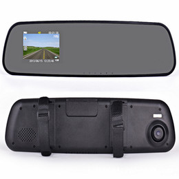 Wholesale Mirrow Car DVR rear of the driving recorder of the traversing mirror