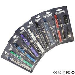 Wholesale Snoop Dogg Blister Kits vapomizer dry her wax atomizer e cigarettes e cig mah battery herbal vape blue starter kit