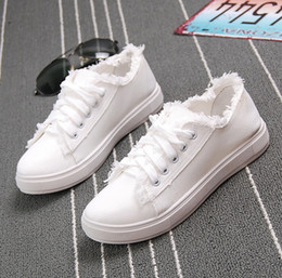 sell like hot cakes Women's fashion canvas shoes Comfortable Casual Shoes Female New Summer White Canvas Shoes Women Zapatos Mujer