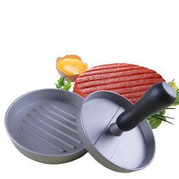 Wholesale 1pcs Hambureger Meat Maker Burger Hamburger Press Meat Press Cookware Kitchen Dining Bar Tool For Family Kitchen Restaurant