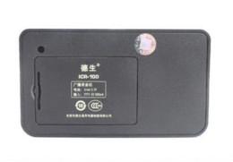 Tecsun ICR-100 ICR100 FM Portable Radio receiver with Digital Recorder MP3 Player speaker + 1GB TF Micro SD Card+Li-battery