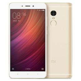 Wholesale New Products Xiaomi Redmi Note RAM GB ROM GB Inch Display MTK Helio X20 core CPU MP MP Camera mAh Battery
