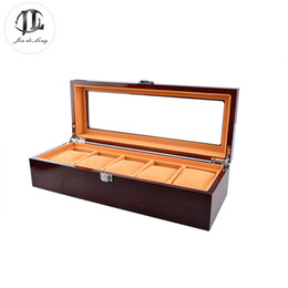 Wholesale The Best Choice Display Case Wooden Rosewood Grids Packing Factory Promotion Christmas Gift Watch Box Wonderful Decoration