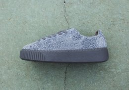 Wholesale 2016 classic Creeper sneaker nappy suede hits the suede platform elemental pack Seakers casual Shoes Rihannas fashion shoes