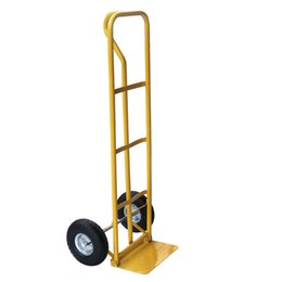 Wholesale 10 quot Terrain Tires Dolly Utility Cart Platform Stainless Steel Two wheel Moving Heavy Lage Trolley Hand Truck