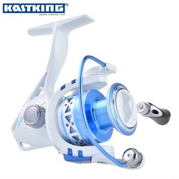 Wholesale KastKing Hot Summer Sale Briquet Faster Stronger Reel Fishing Saltwater Spinning Reel Livraison gratuite