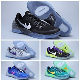 Wholesale latest of top quality Kobe generation Basketball Shoes Kobe venom sports shoes Kobe track and field training running shoes
