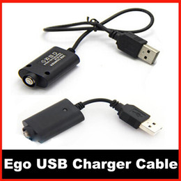 Top Quality ego usb charge cable Electronic cigarettes usb Charger with IC protect fit for ego ego-t ego-w ego-c Battery and general mod