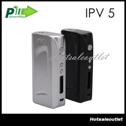 Wholesale Pioneer4you iPV5 W TC Box Mod VW Dual Temperature Control Mod Powered by YiHi SX330 Chipset iPV Mod Original