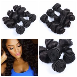 G-EASY Peruvian hair 3 bundle hair weave mink soft loose wave unprocessed human hair weave extensions no shedding
