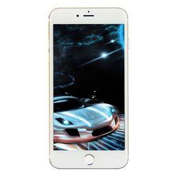 2017 8gb wifi Noir 3G WCDMA Goophone i7 1: 1 Clone Quad Core MTK6580 512 Mo de RAM ROM 8 Go + Carte Micro SD intégrée de 32 Go avec Android 6.0 WiFi Caméra 8MP Smartphone bon marché 8gb wifi