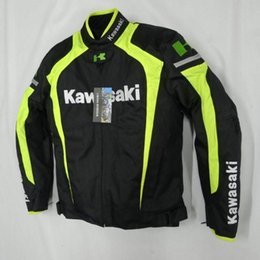 2016 new style kawasaki breathable Running jackets motorcycle jackets race jackets knight off-road jackets motorcycle clothing windproof k-