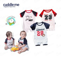 100% pure cotton baby boy short rompers for hot summer