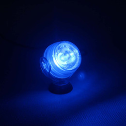 Aquarium Underwater 1W LED Light Submersible Round Ball Shape Light White   Blue   Red   Green   Yellow Lighting