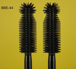 Professional Special Youniq Plastic Nylon Mascara Eyelash Eyebrow Eyeliner Fiber Brushes Wands Applicator Sets Container White Factory QZ-44