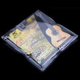 La guitarra encadena el sistema de la galjanoplastia de plata del nilón ligero estupendo para la guitarra acústica clásica 6pcs / set desde guitarra acústica de nylon fabricantes