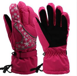 Wholesale 2016 winter warm glove women and man glove water proof glove ski glove