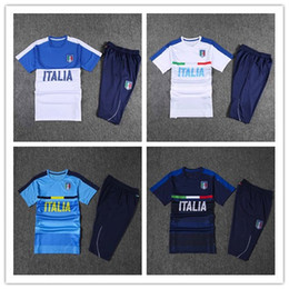 Wholesale Italys Soccer Jerseys Football Shirts red BLACK kit uniform de foot maillot best quality training suit adult sets