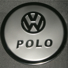Volkswagen Vw Polo Stainless Steel Fuel Gas Oil Tank Cover Tank Cap Trim for 2009- 2011 Vw Polo Car Styling Accessories