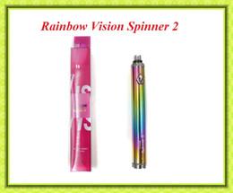 Acheter en ligne Torsion ii-Vision Spinner II 2 eGo Twist Batterie Variable Batterie 1600 mAh pour CE4 CE5 H2 mini Protank 3 atomiseur VS EGO Une batterie