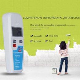 Wholesale BSIDE EET100 LCD Air Quality Multimeter Dust VOC Temperature Humidity Meter Atmosphere Environment Detector Air Analyzer