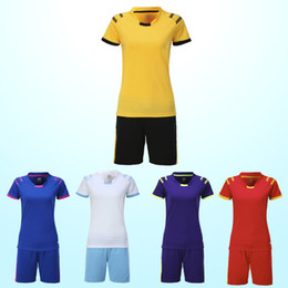 New women's football training suits, sportswear, sports suits, women's short sleeve football suits, you can process names and numbers and si