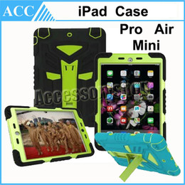 Wholesale iPad Pro Autobots Waterproof Heavy Duty Case Tough Waterproof Dirt Shockproof Kick Stand Defender Cover for iPad Pro iPad Air Mini