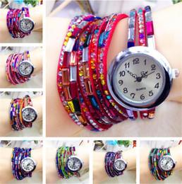 Women Wristwatch Luxury Rhinestone Quartz Dress Watches Quartz Casual Watch Imitation Diamond Reloj Mujer Fashion Leather Watch
