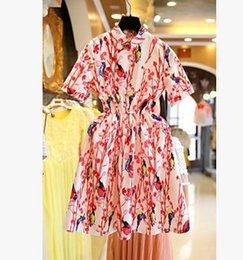 Wholesale 2016 New Big Girl Summer Casual Nice Dress Sleeve Pincess Pining Dress Women Clothing Dress Fashion Apparel Dress V7D6D