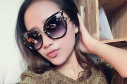 Vintage 2016 new cat eye sunglasses women new 2016 luxury woman sunglasses designer brand cateye black discount UV400