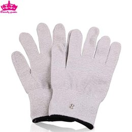 Wholesale microcurrent massager massage gloves for health