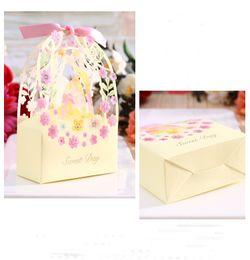 Wholesale 2016 European Classic Fashion wedding Candy Boxs For Wedding Favor Supplies