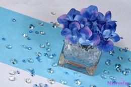 2017 tableau acrylique clair 4.5mm 1000pcs Acrylique cristal clair Diamond Party mariage table decortion décoration de bureau, Décoration de mariage, Livraison gratuite abordable tableau acrylique clair