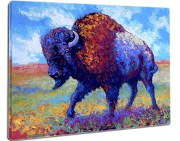 Wholesale Giclee Animal good medicine oil painting arts and canvas wall decoration art Oil Painting on Canvas X90cm MRR028