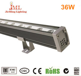 36W LED wash wall used 6063 aluminum heat sink lighting Epistal LED chip wash wall light 10pcs lot wash walll light