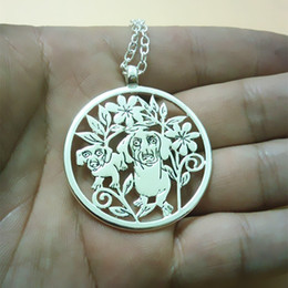 wholesale 20pcs lot Pet Portrait Personalized Soup Spoon Pendant Necklace with order personalized pet silhouette big Statement upcycled pend