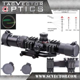 Wholesale Vector Optics Mustang x30 Compact Hunting Riflescope Chevron Reticle Sight with Turret Lock System