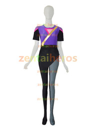 Newest Garnet from Steven Universe Superhero spandex Female halloween cosplay costumes zentai suit free shipping